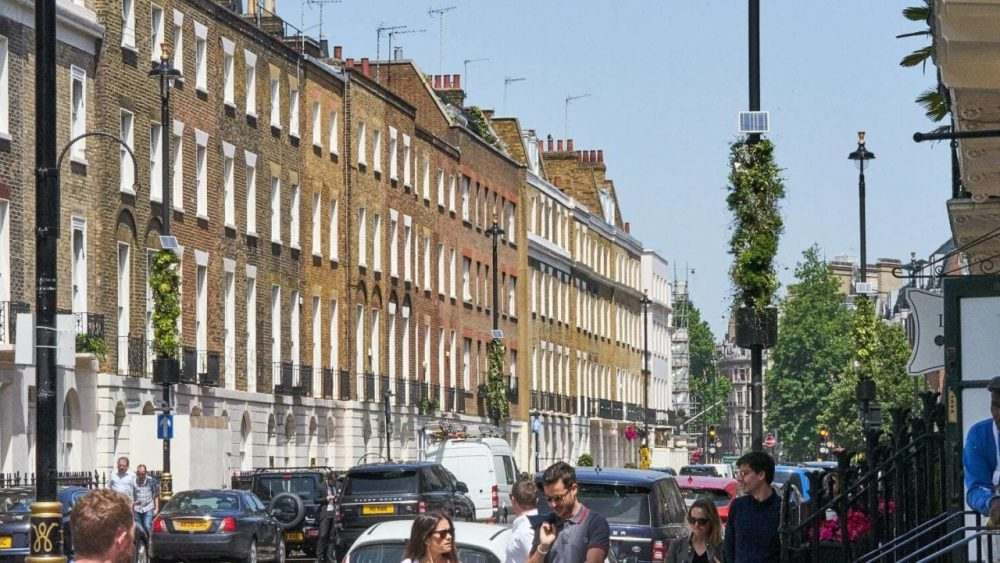 Londres, luminarias, alumbrado público