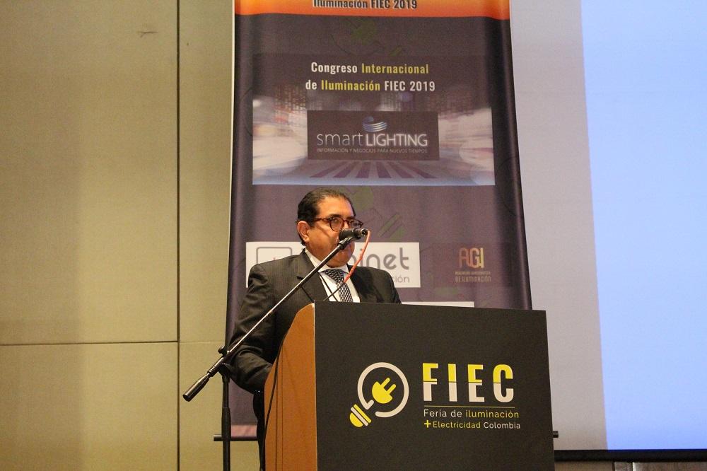 FIEC 2019, iluminación, LED, Colombia
