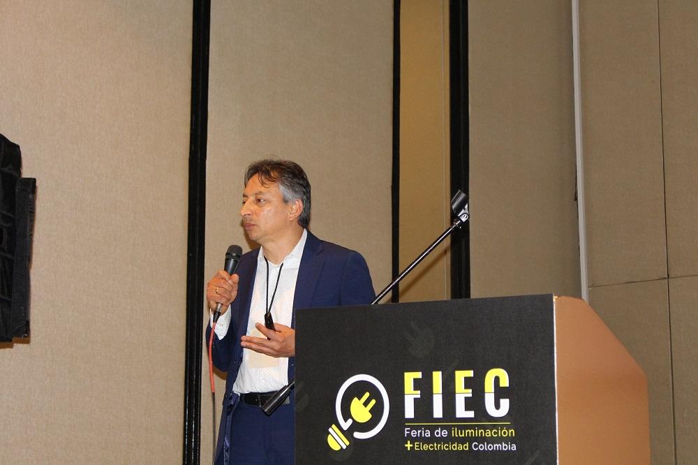 FIEC 2019, Colombia, iluminacíión, LED