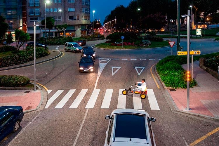Setga, Trafic 2019, ciudades inteligentes, iluminación, LED