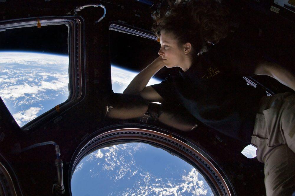 contaminación luminica, astronautas, estación espacial, alumbrado público, iluminación