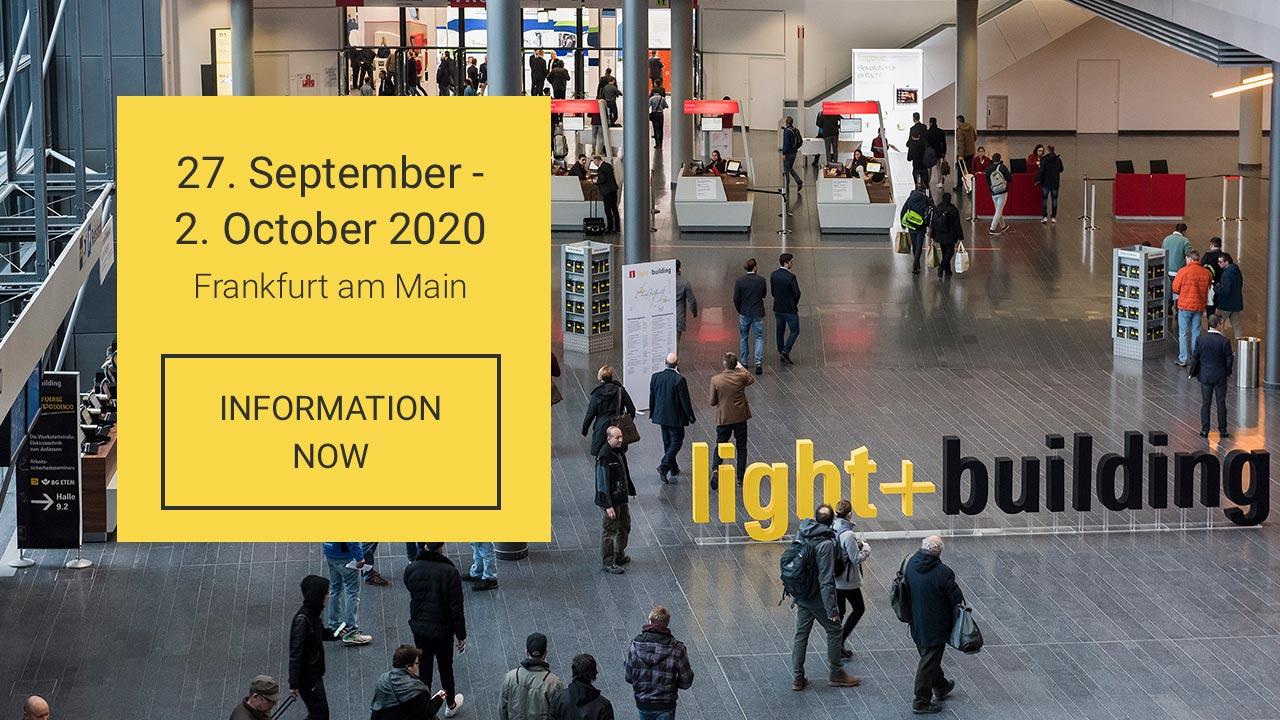 Light + Building, Light&Building, Messe Frankfurt