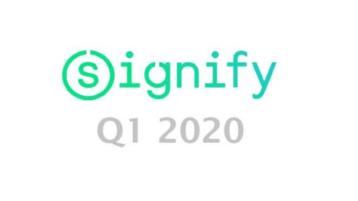 Signify, Q1 2020, iluminación, mercado, resultados financieros