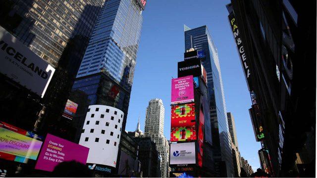 ciudades, LED, tecnología LED, pantallas