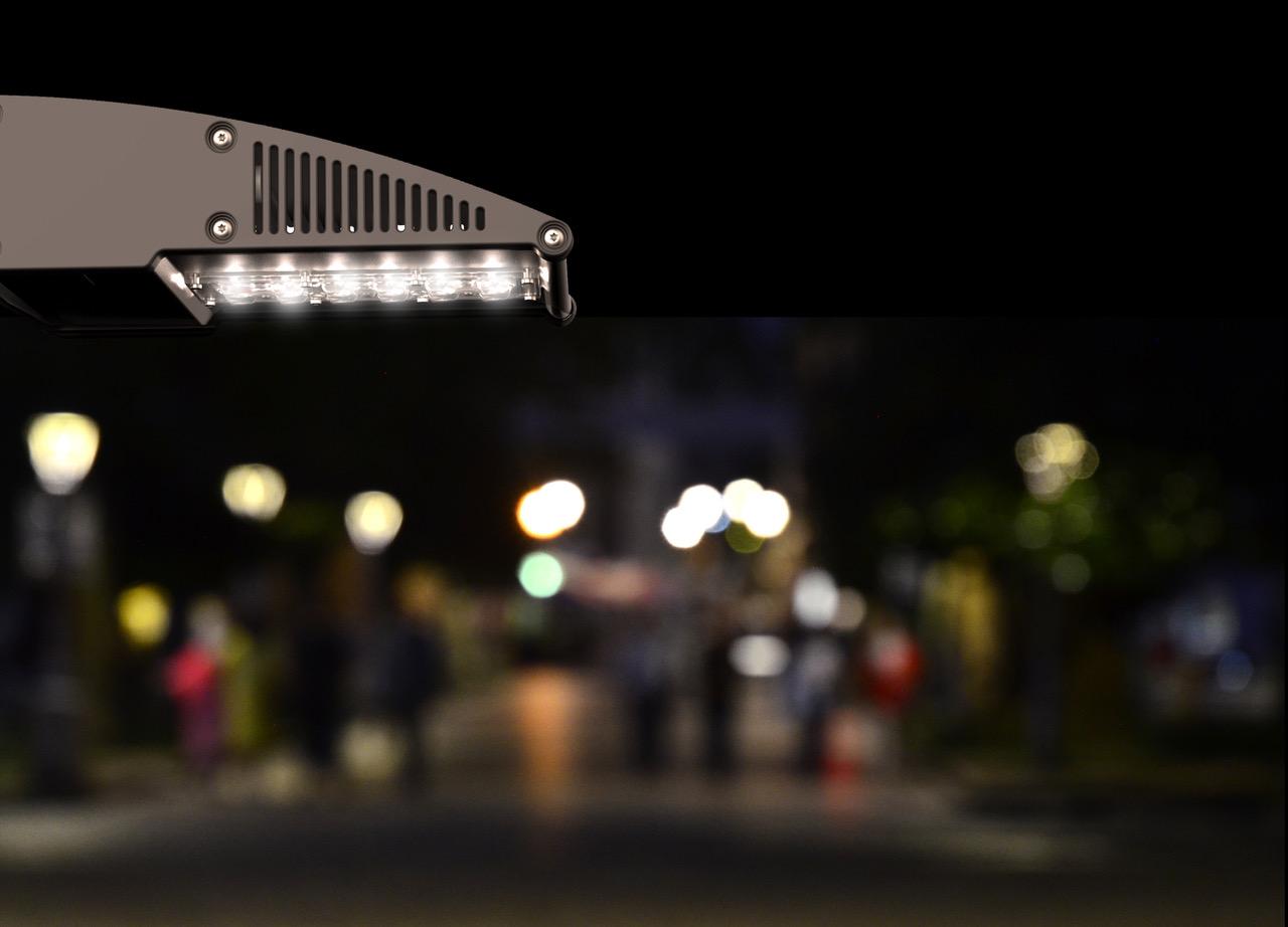 slowlight, Televés, contaminación lumínica