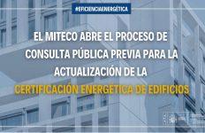 MITECO, certificado eficiencia energética, edificios,