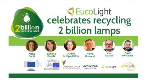 EucoLight, LightingEurope, reciclaje, economía circular