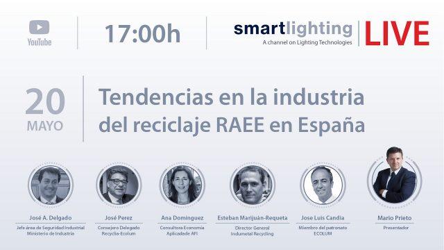 reciclaje, smartlighting LIVE, encuentro digital, smartlighting, Recyclia