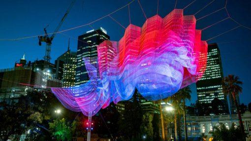 Janet Echeman, Prolights, proyectores LED, Australia