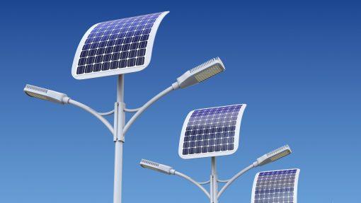 iluminación LED Solar, farolas solares, mercado