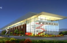 Ferrero, arquitectura industrial