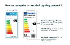 etiqueta energética, etiquetado energético, fuentes de luz