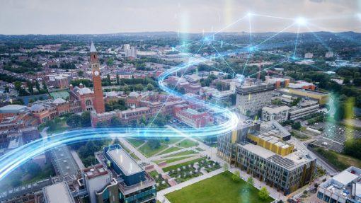 campus universitario, Siemens, Universidad de Birmingham